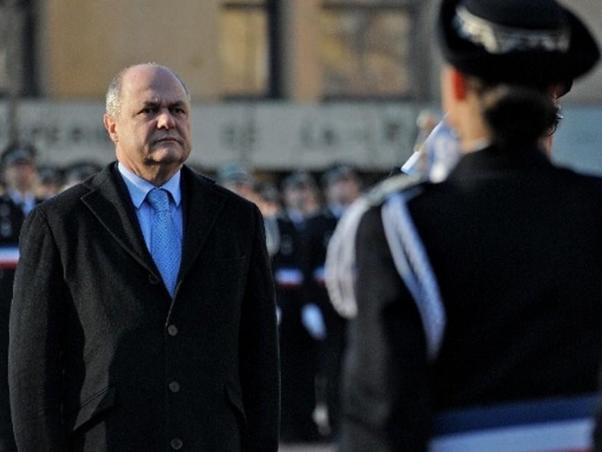 Bruno Le Roux était à Lyon pour la 68e promotion des commissaires de police