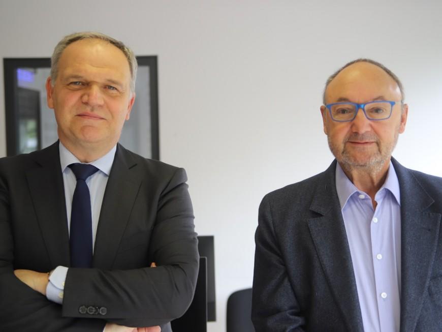 """François-Noël Buffet : """"L'Anneau des Sciences ? Pour l'instant, ce dossier est mis de côté"""""""
