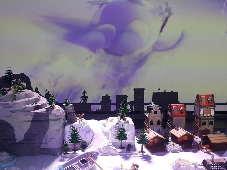 Playmobil occupe l'espace à Miniworld Lyon