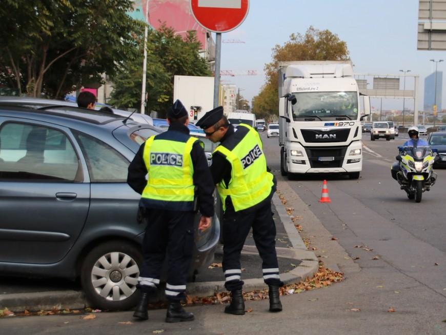 Contrôle routier du transport de marchandise : 115 véhicules contrôlés au nord de Lyon