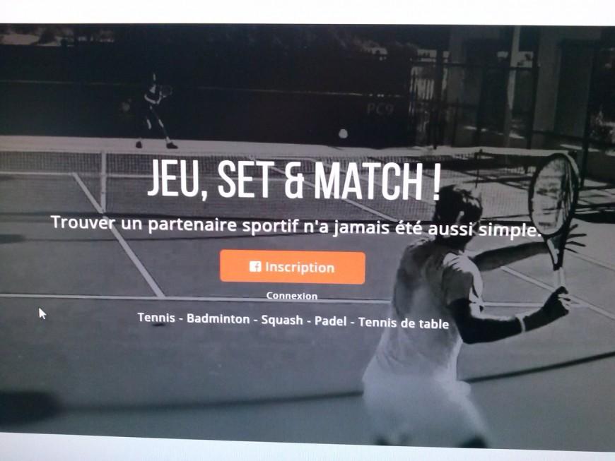 Des Lyonnais lancent un site de rencontres sportives spécial raquettes