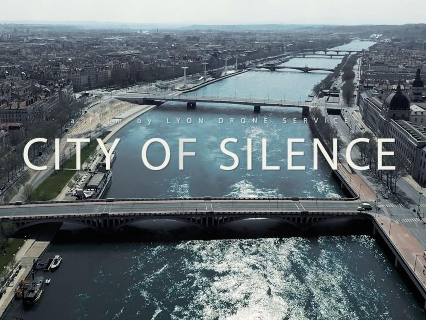 """""""Lyon city of silence"""": une vidéo tournée par un drone pendant le confinement"""
