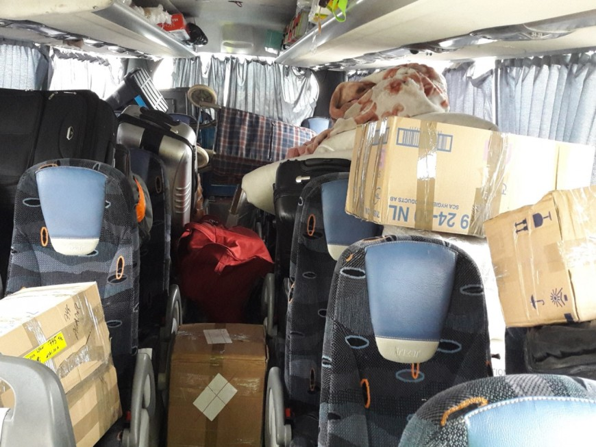 Lyon : un autocar en direction du Maroc intercepté avec plus de 3400 kg d'excédents