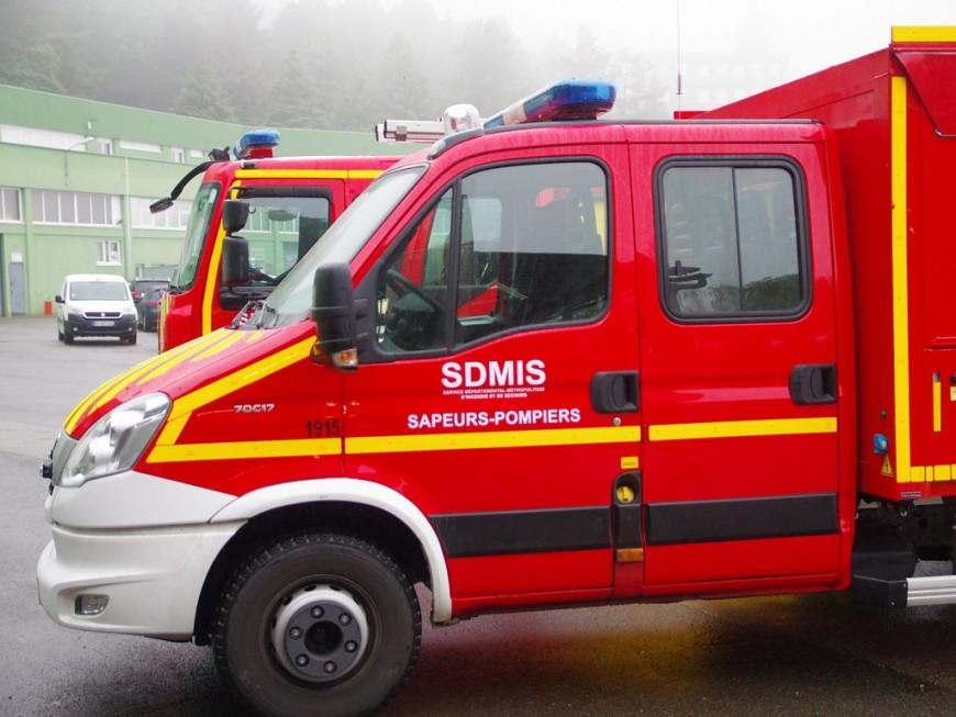 Carambolage entre six véhicules ce jeudi matin sur l'A43
