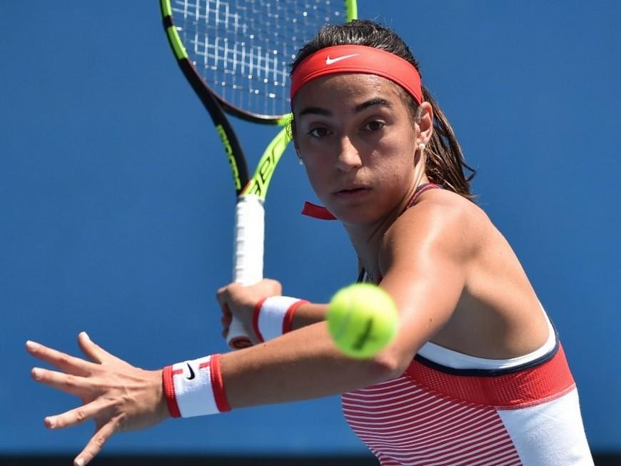 Caroline Garcia démarre mal son premier Masters à Singapour