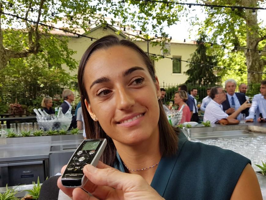 Caroline Garcia à l'origine d'un nouveau tournoi de tennis féminin à Lyon