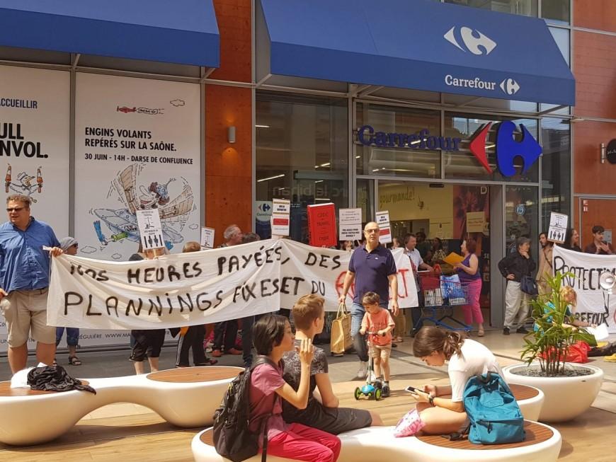Droit du travail : un faux procès ce mercredi matin devant le Carrefour Confluence