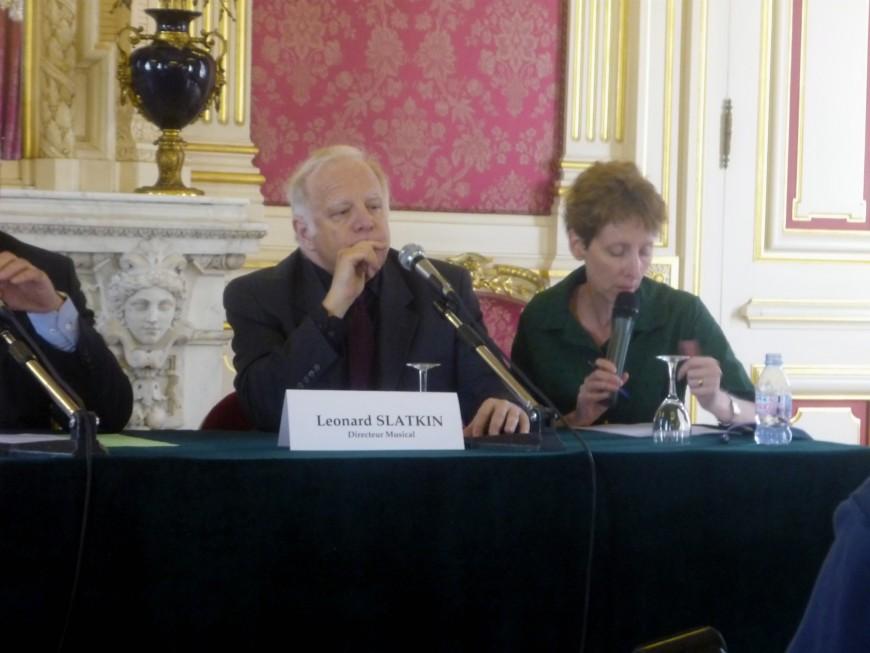 Leonard Slatkin quittera bien la direction de l'Orchestre national de Lyon