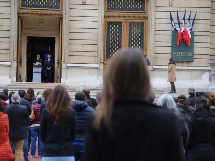 Assassinat de Samuel Paty : une journée d'hommages à Lyon avant une cérémonie à la Sorbonne