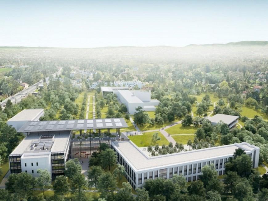"""Campus Région du Numérique : Laurent Wauquiez veut """"une Silicon Valley européenne"""" à Charbonnières"""