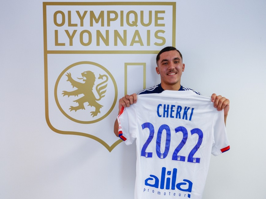 OL : Rayan Cherki sera un Gone jusqu'en 2022 (officiel)