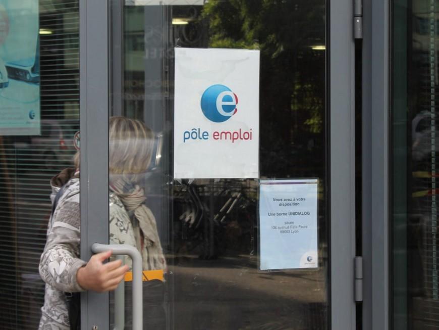 Le chômage en hausse de 0,4% dans le Rhône et de 1,4% dans la région