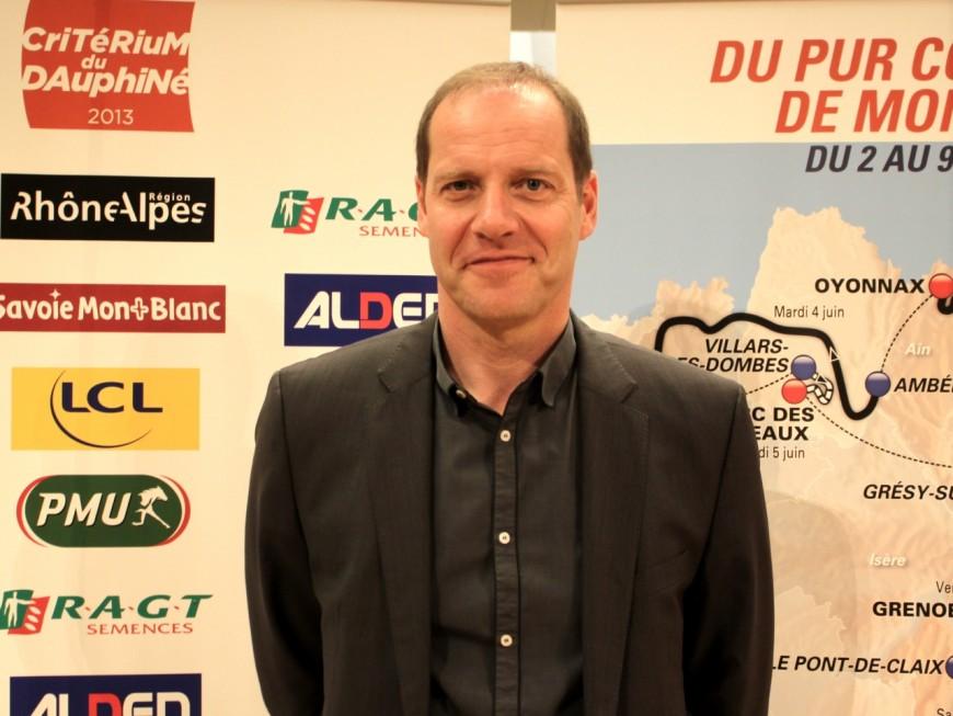 """Christian Prudhomme, directeur du Tour de France : """"L'étape à Lyon sera magnifique"""""""
