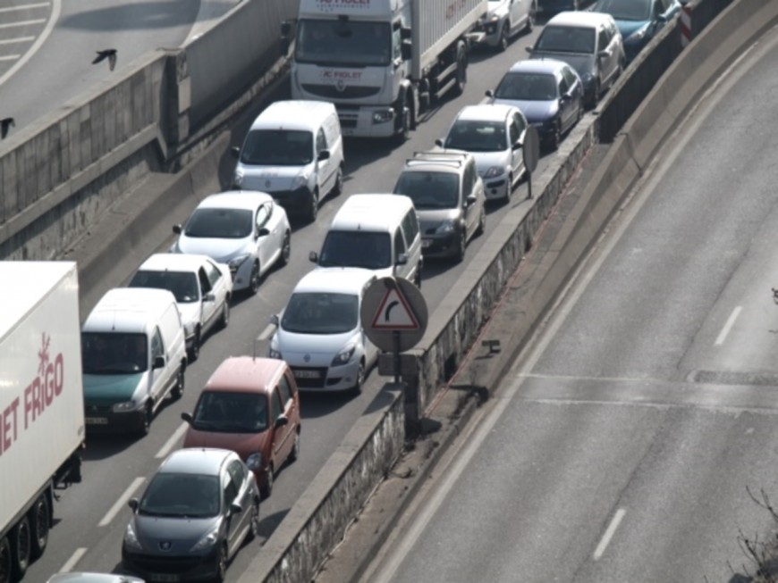 Lyon : les fermetures du tunnel sous Fourvière pour le mois de septembre
