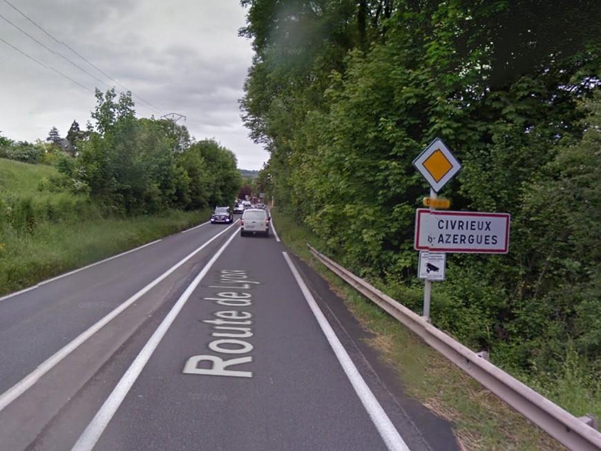 Trop de circulation : la mairie de Civrieux-d'Azergues tape du poing sur la table
