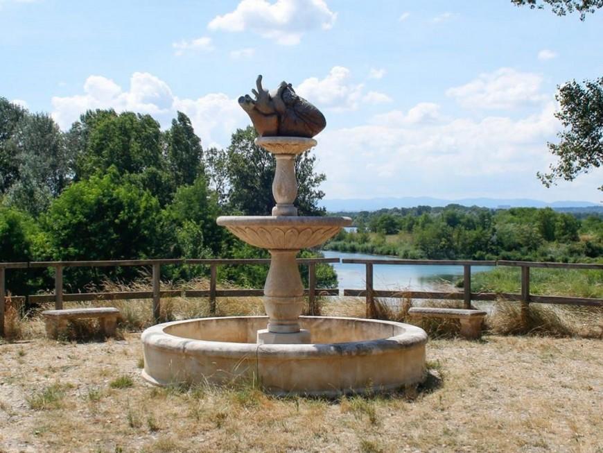 Une sculpture en bronze de 70 kg volée au parc de Miribel Jonage