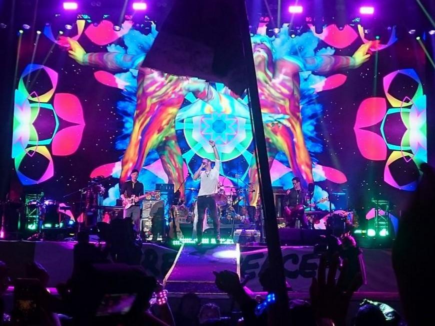 Les billets pour le concert de Coldplay à Lyon en vente ce vendredi