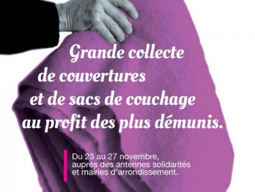 La Ville de Lyon lance une collecte de couvertures