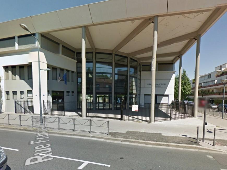 Une grève au collège Môrice Leroux de Villeurbanne