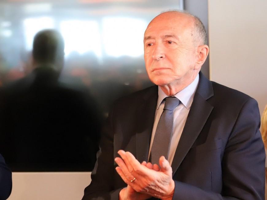 """Lyon: Gérard Collomb pense que """"le masque deviendra obligatoire dans certains lieux"""""""