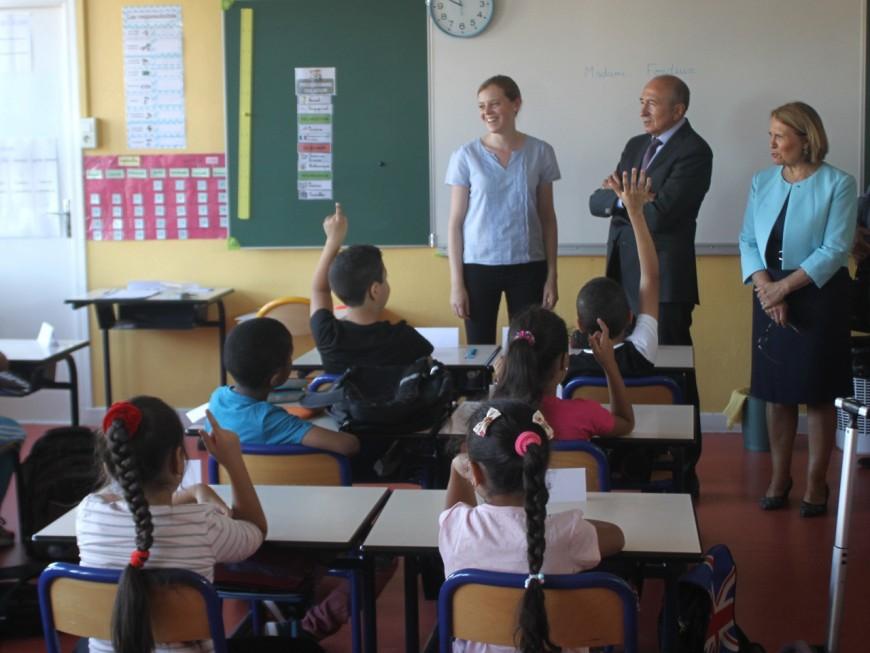 Lyon : Une rentrée des classes 2016-2017 pour préparer l'école de demain