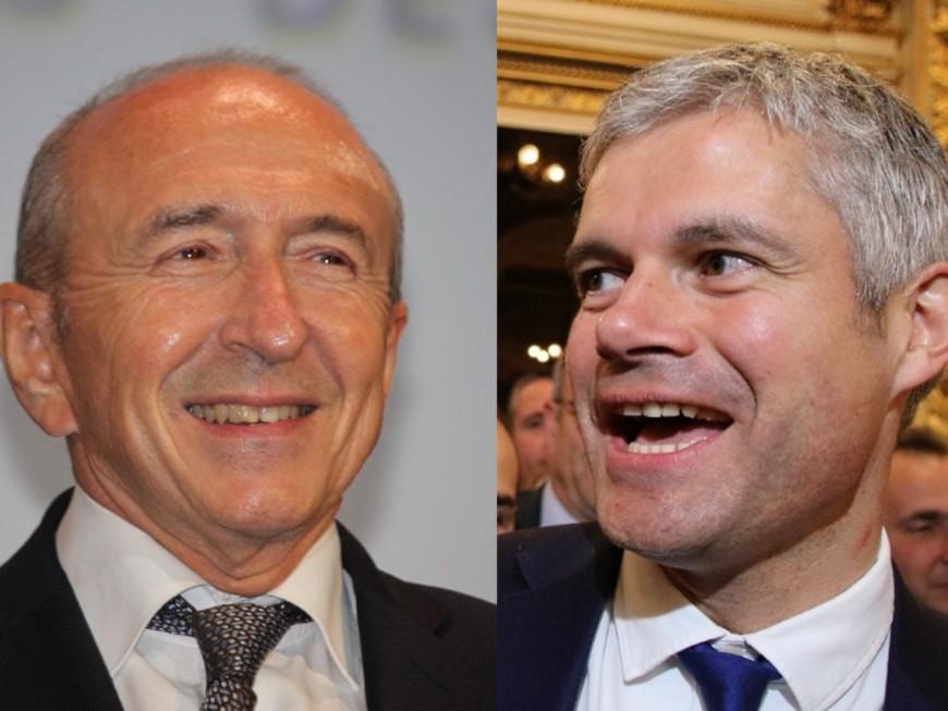 Bonne opinion des Français : Gérard Collomb chute, Laurent Wauquiez bondit