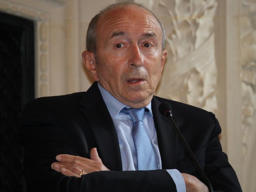 Gérard Collomb en visite à Lyon pour honorer les futurs commissaires de police