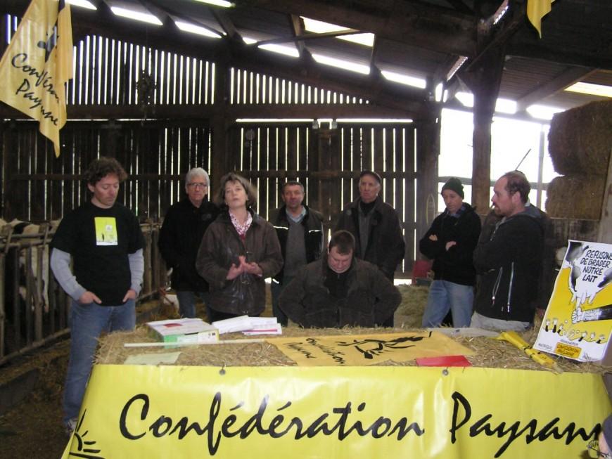 Crise de l'élevage : La confédération paysanne Auvergne-Rhône-Alpes préconise la vente directe