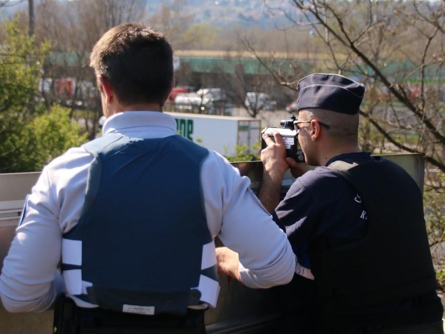 Records d'excès de vitesse sur les routes du Rhône malgré le confinement