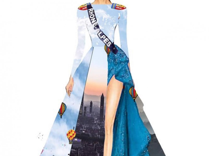 """Une """"invitation au voyage"""" sur le costume régional de Miss Rhône-Alpes !"""