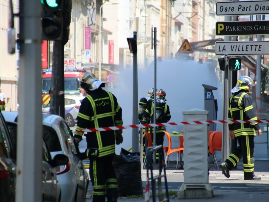 Lyon : circulation coupée sur le cours Lafayette en raison d'une fuite de gaz