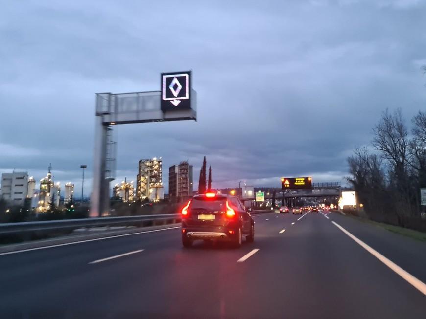 Lyon : la verbalisation débutera ce lundi sur les voies de covoiturage de la M6/M7