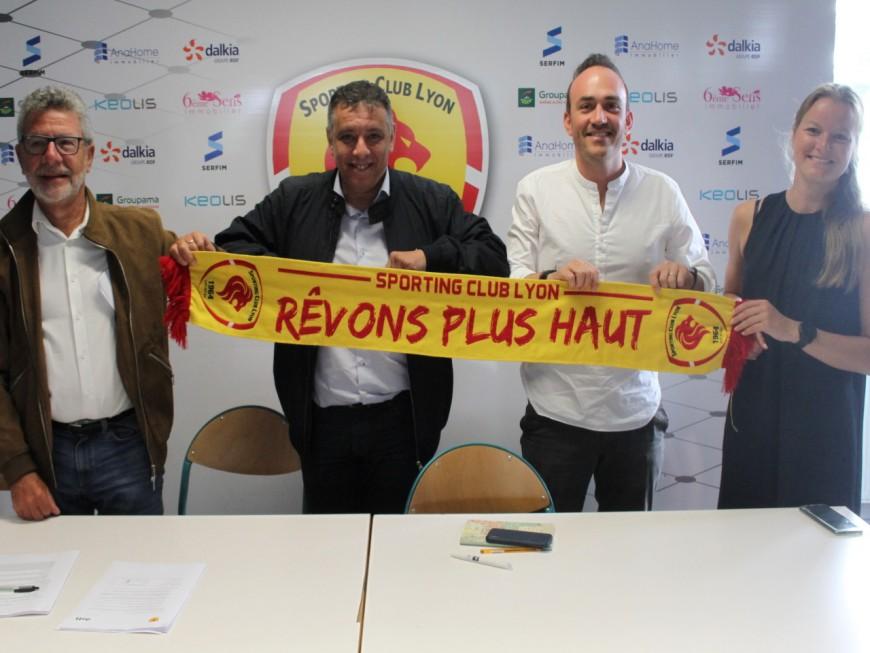 Le Sporting Club de Lyon et Dott signent un partenariat