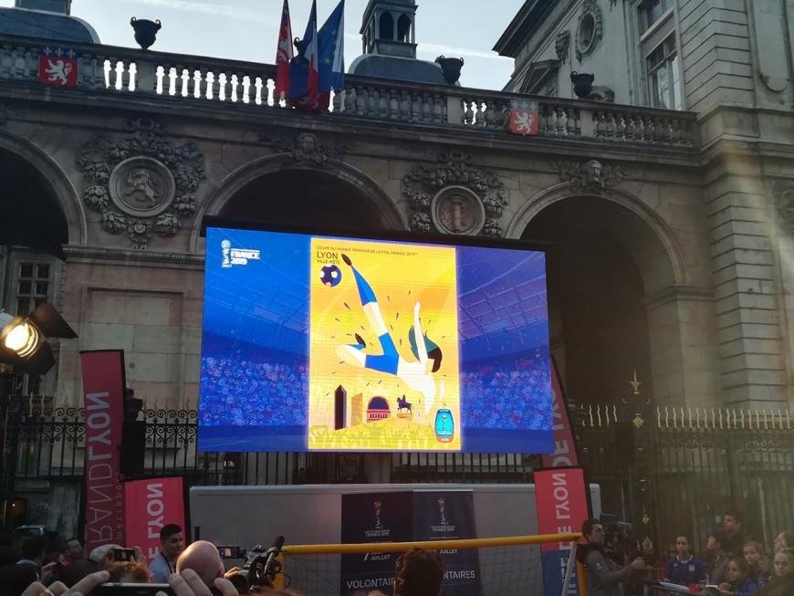 """Coupe du Monde féminine à Lyon : """"Ca va être un événement incroyable"""""""
