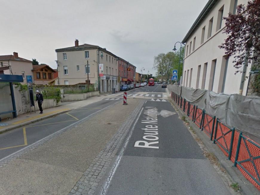 Rhône : deux piétons renversés par un camion, une fillette tuée