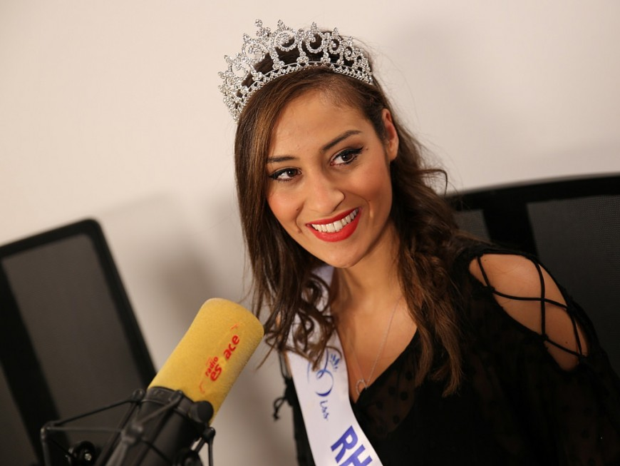 """Dalida Benaoudia, Miss Rhône-Alpes : """"Etre à la hauteur de notre belle région"""""""