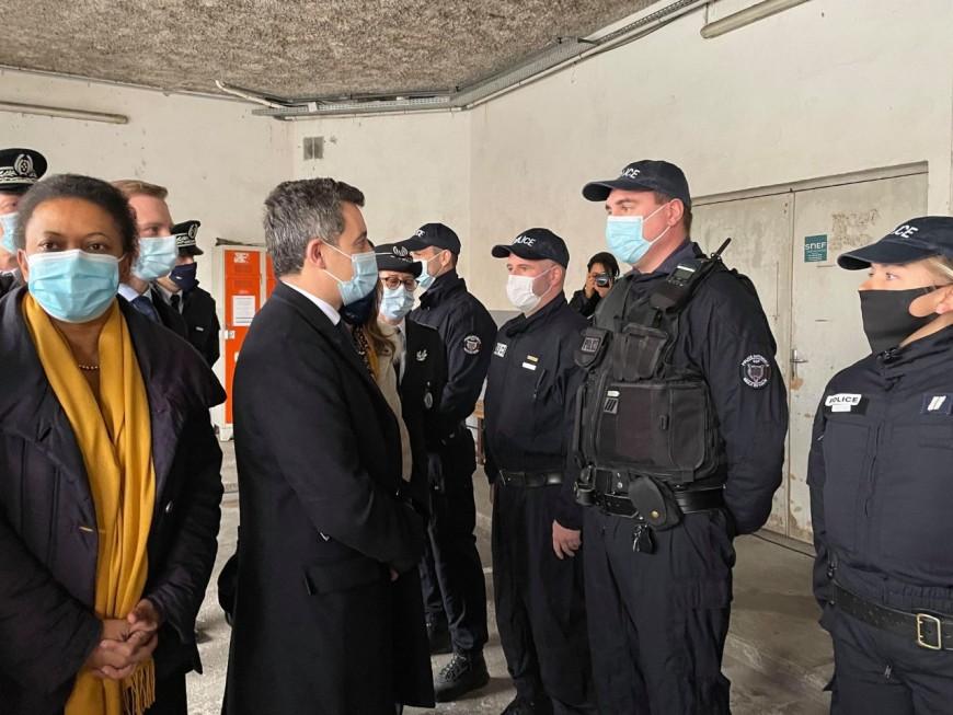 Visite de Gérald Darmanin : QRR et renforts policiers pour Vaulx-en-Velin et Rillieux-la-Pape