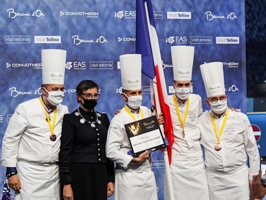 Davy Tissot qualifie la France pour la finale du Bocuse d'Or