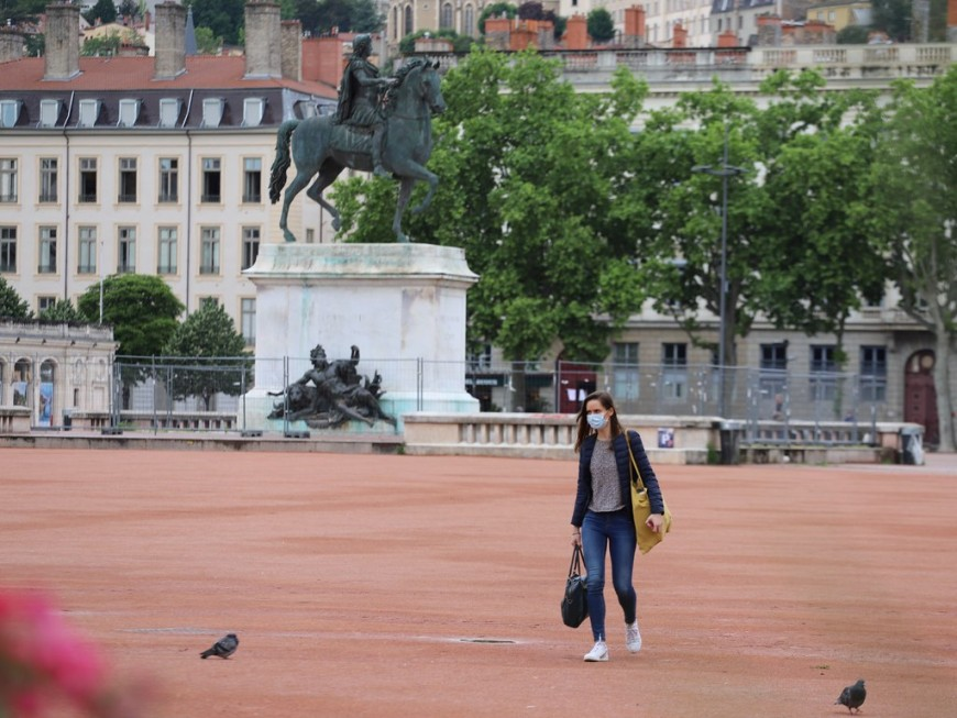 Déconfinement: la vie reprend doucement à Lyon(Photos)
