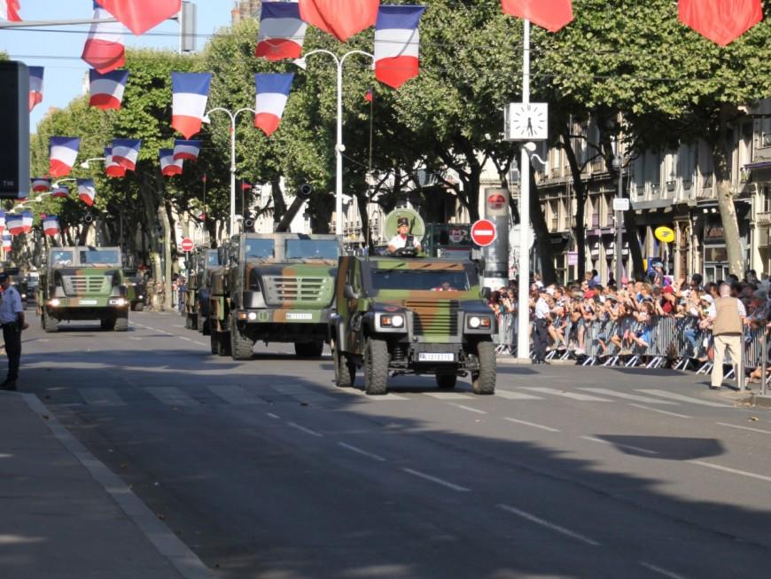14 juillet : le traditionnel défilé prévu ce mercredi à Lyon