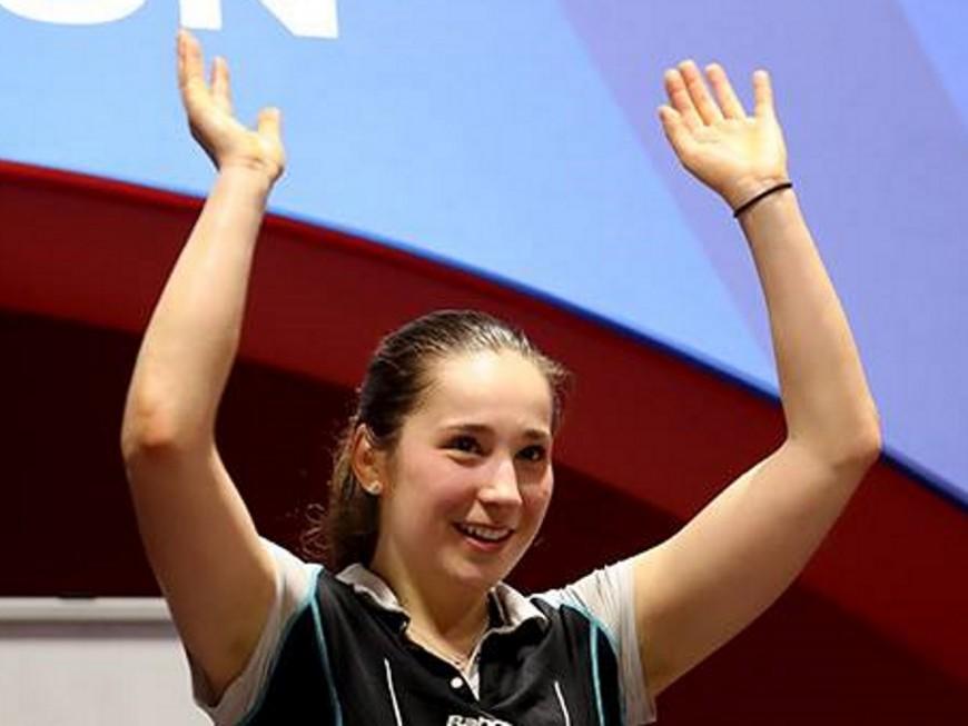 Badminton: Delphine Lansac de nouveau sacrée championne de France