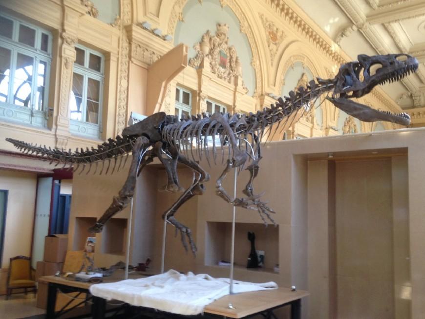 """Lyon : le dinosaure présenté chez Aguttes est une espèce """"totalement nouvelle"""""""