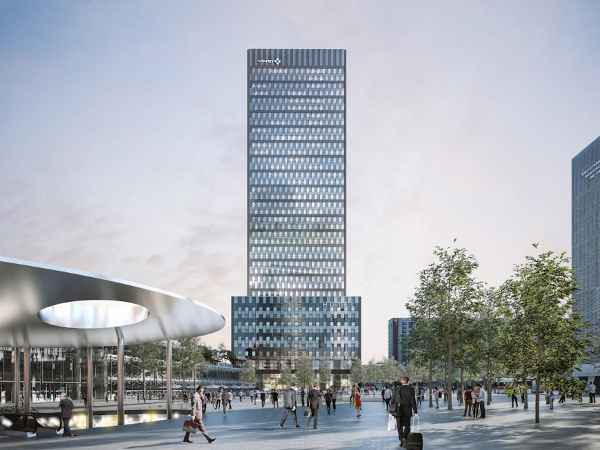Début des travaux de la tour To Lyon - VIDEO