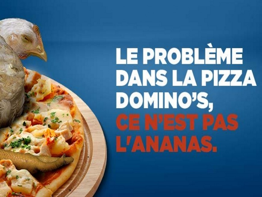 Action de L214 ce mercredi à Lyon contre Domino's Pizza
