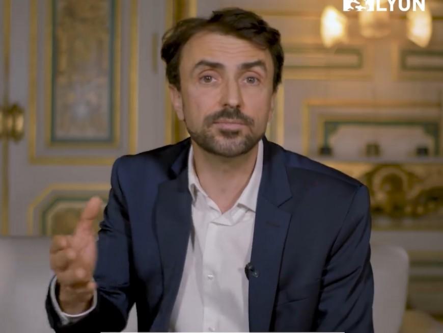"""Voeux du maire de Lyon : Grégory Doucet vous souhaite """"une année avec plus de nature et plus de culture"""""""