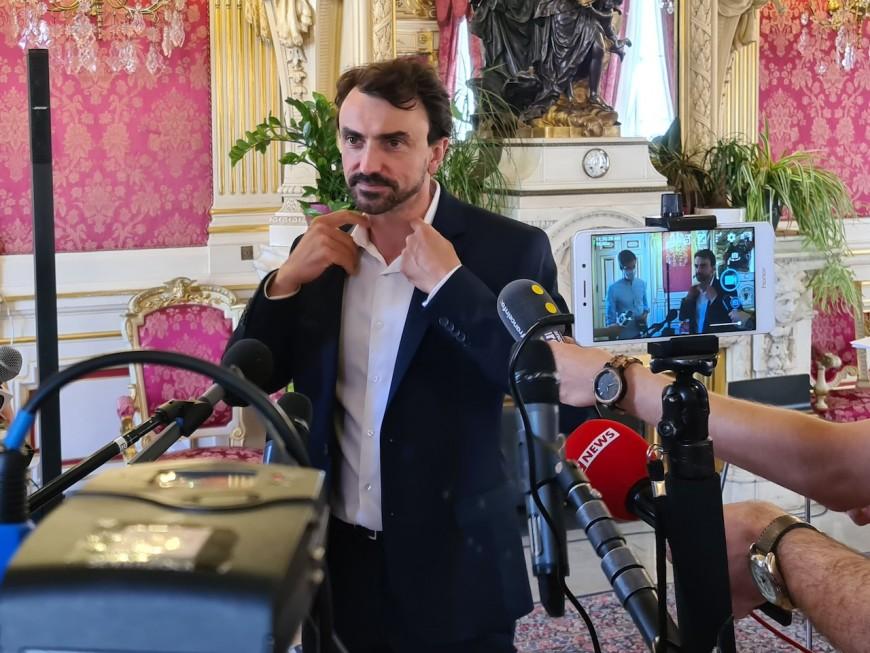 Indemnités, vidéoverbalisation, culture: Grégory Doucet veut entrer dans le vif du sujet