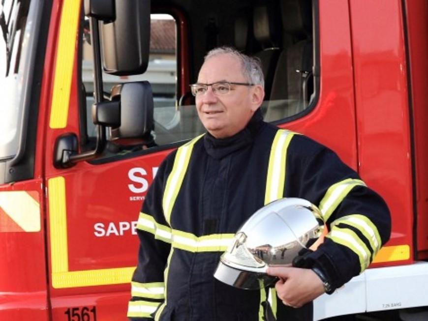 Bernard Perrut, député du Rhône, pompier de Villefranche-sur-Saône le temps d'une nuit