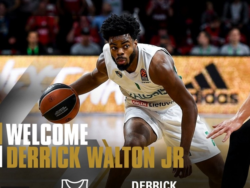 L'ASVEL annonce l'arrivée de Derrick Walton Junior