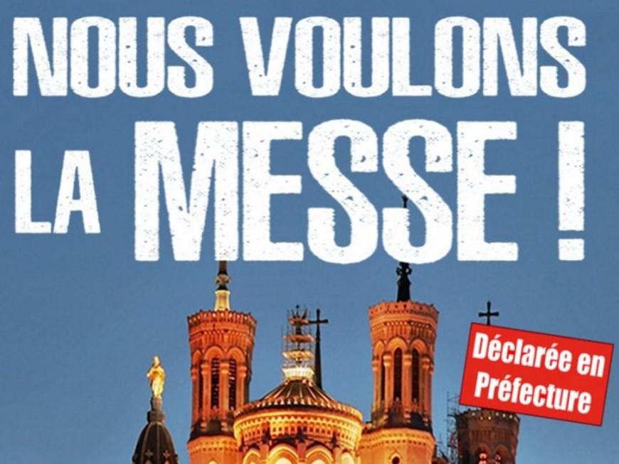 Lyon: les catholiques intégristes se réunissent ce samedi pour demander le retour des messes