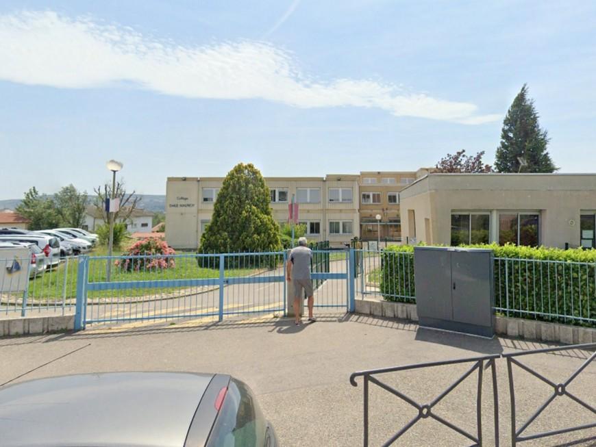 Un collège vandalisé pendant les vacances près de Lyon